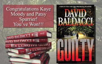David Baldacci Giveaway Winners