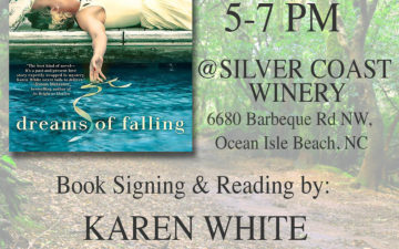 Karen White Pelican Bookstore Silver Coast Winery